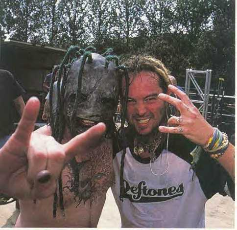 SOULFLY: Max Cavalera with Corey Taylor